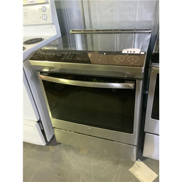 PROFILE CONVECTIONAL OVEN WITH INDUCTION STOVE TOP WITH DOWN DRAFT FEATURE MODEL PCHS920SM