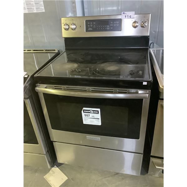 INSIGNIA CONVECTIONAL OVEN WITH ELECTRIC STOVE TOP MODEL NS-RNEC48SS9