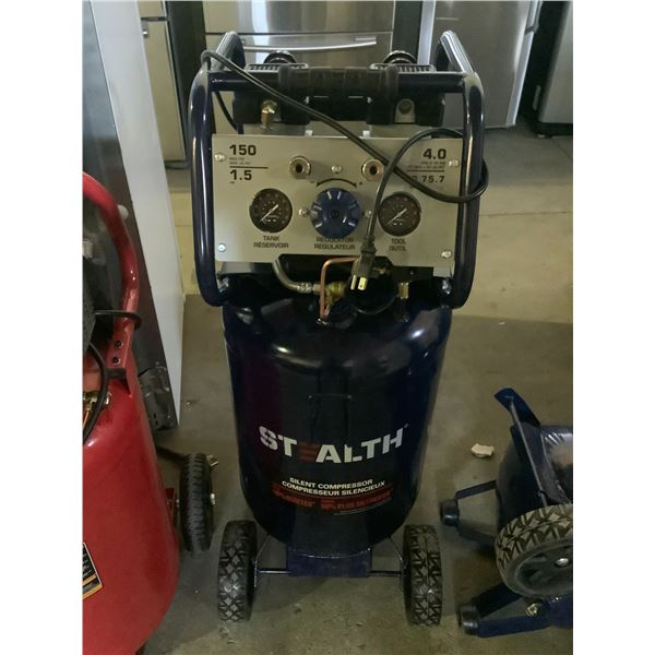 STEALTH SILENT COMPRESSOR 150 MAX PSI 20GALLON MAY NEED REPAIRS AND OR MISSING PIECES