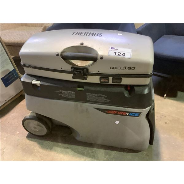 FIRE & ICE THERMOS GRILL 2 GO UNIT