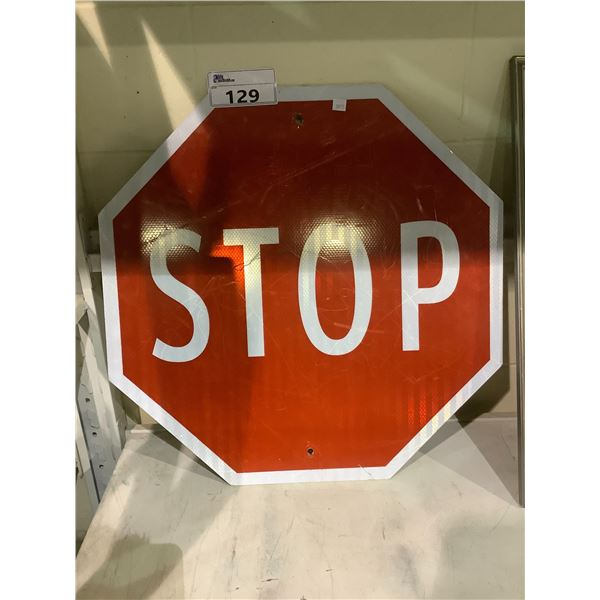 REFLECTIVE STOP SIGN