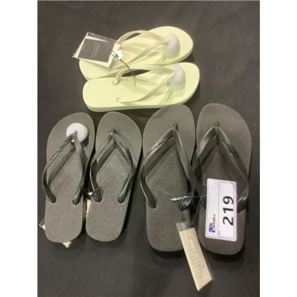 3 NEW PAIRS OF V FOR VENDETTA SANDALS