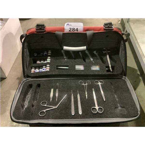 FIRST TACTICAL BAG WITH SET DEC MEDICAL SUPPLIES