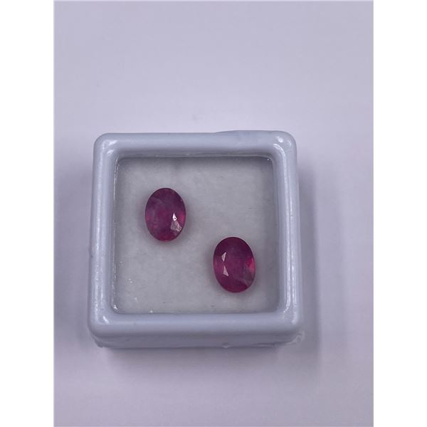LOVELY NATURAL RUBY 3.85CT, 6.1 X 8.1 X 4.2MM, OVAL CUT, MADAGASCAR, POSSIBLE GF TREATMENT