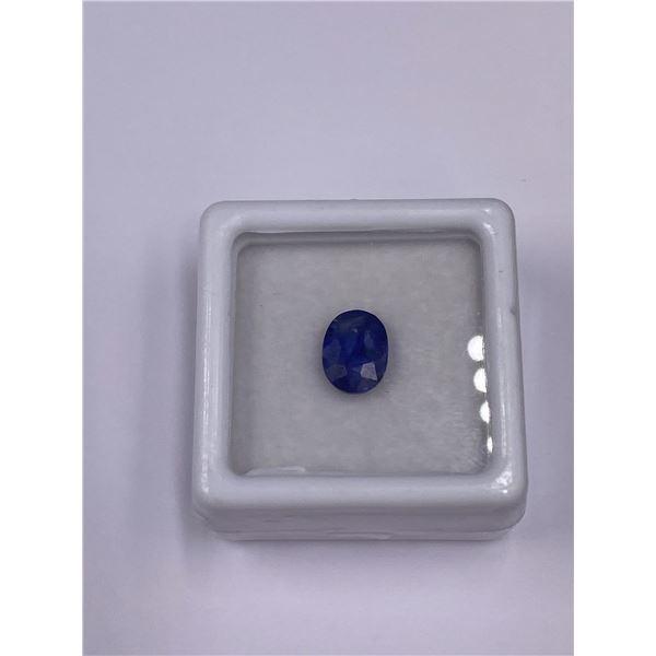 BLUE SAPPHIRE 1.63CT, 8.01 X 6.04 X 3.44MM, OVAL CUT, VS CLARITY, THAILAND