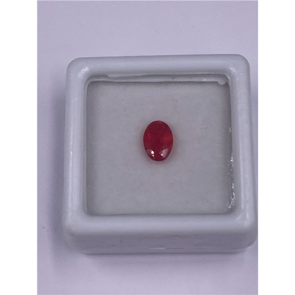 NATURAL PINK SAPPHIRE 0.79CT, 6.89 X 4.39 X 2.59MM, OVAL CUT, VVS CLARITY, MADAGASCAR, UNTREATED