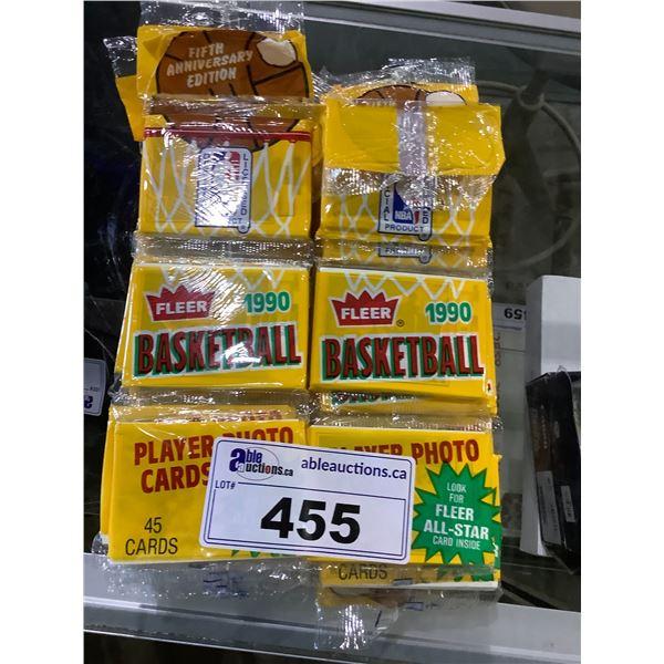 LARGE QUANTITY OF FLEER BASEBALL CARDS