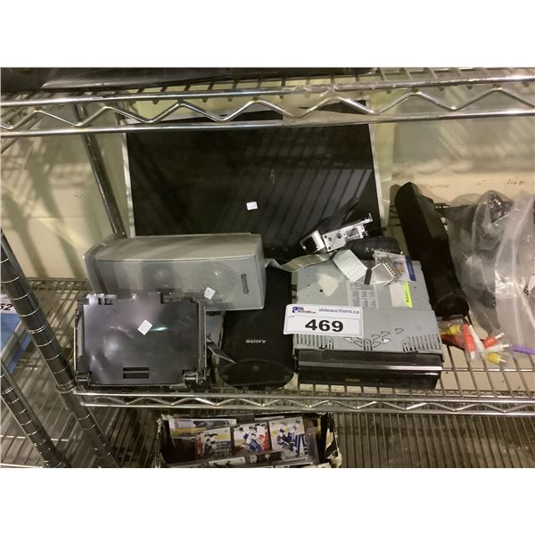ASSORTED ELECTRONICS FOR PARTS/REPAIR