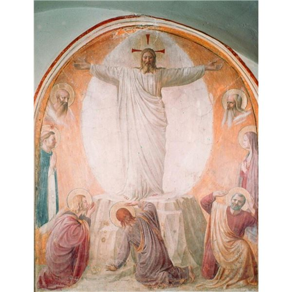 Fra Angelico - Transfiguration of Christ by Angelico