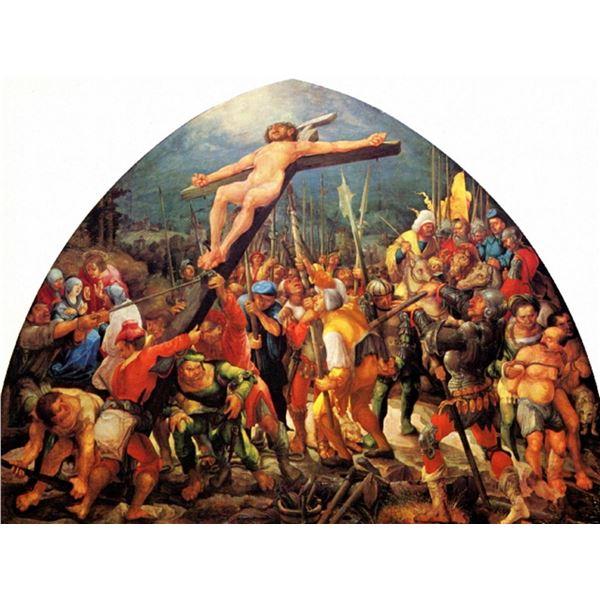 Wolf Huber - Lifting the Crucifix