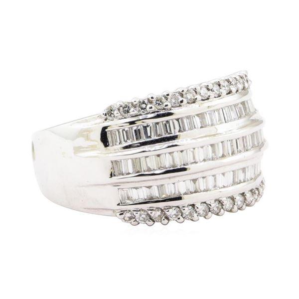 1.34 ctw Diamond Ring - 18KT White Gold