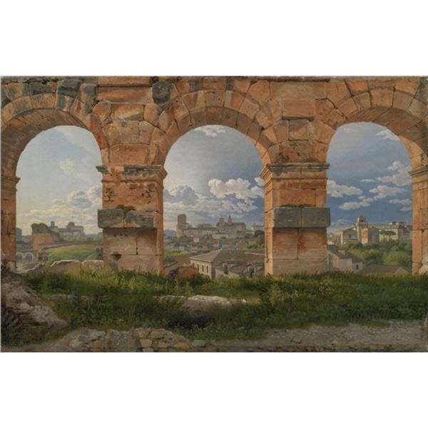 C.W. Eckersberg - Three Arches of the Colosseum