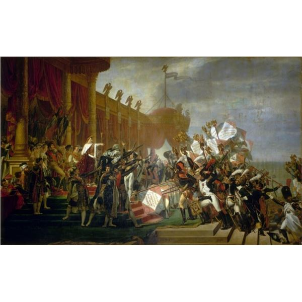 Jacques-Louis David - The Army takes an Oath to the Emperor