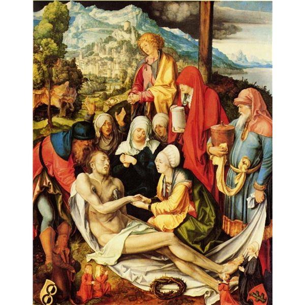 Albrecht Durer- Weeping Christ (2)