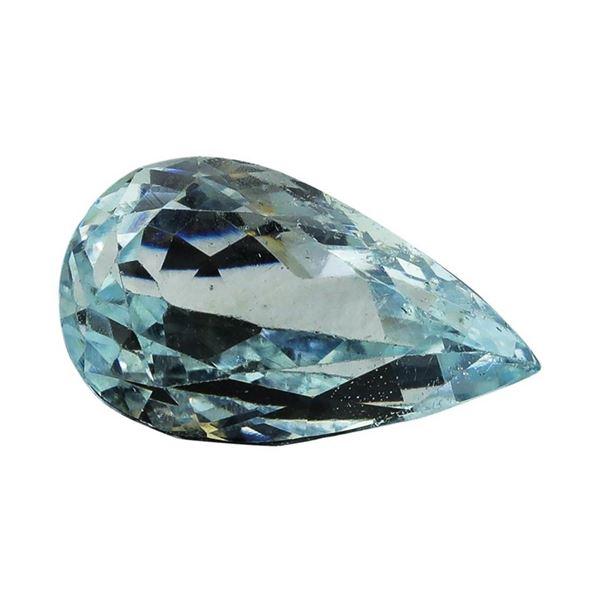 5.98 ct.Natural Pear Cut Aquamarine