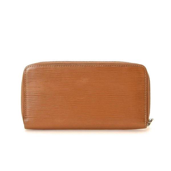 Louis Vuitton Tan Cannelle Epi leather Zippy Wallet