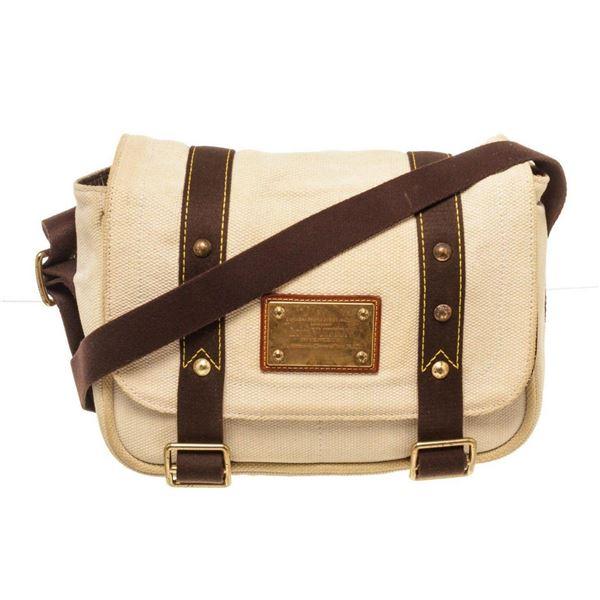 Louis Vuitton Black Canvas Buzzus PM Shoulder Bag