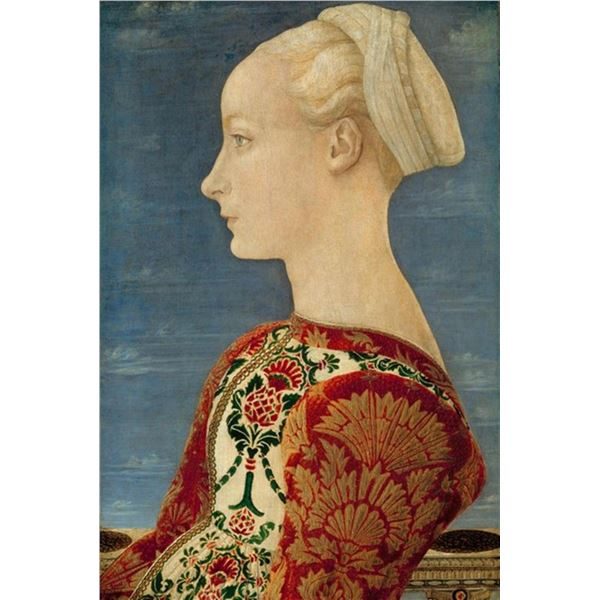 Antonio del Pollaiuolo - Portrait of a Young Lady