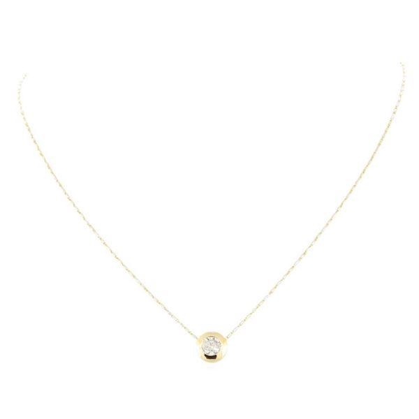 1.02 ctw Diamond Necklace - 14KT Yellow Gold
