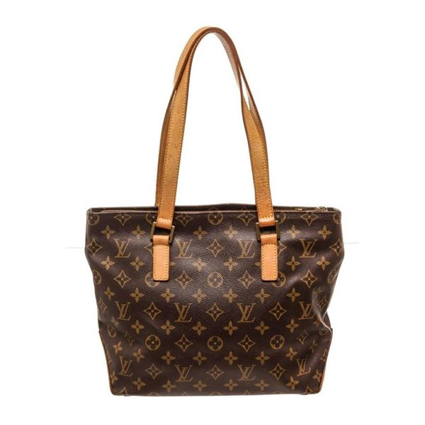Louis Vuitton Brown Cabas Piano Shoulder Bag