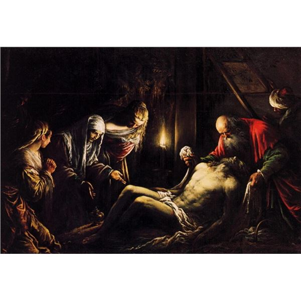 Jacopo Bassano - Mourning for Christ