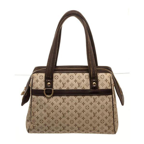 Louis Vuitton Brown Leather Josephine Shoulder Bag