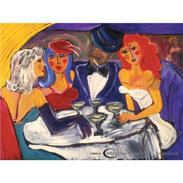 """Susan Manders """"Dining with The Sharkettes"""""""