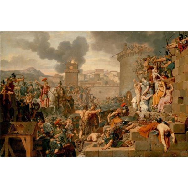 Armand-Charles Caraffe - Metellus Raising the Siege