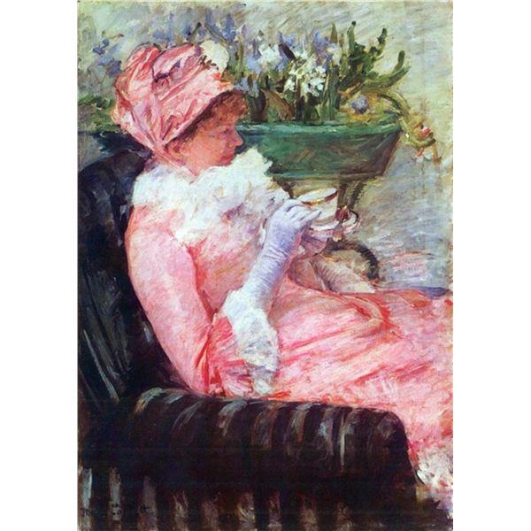 Mary Cassatt - The Cup Of Tea
