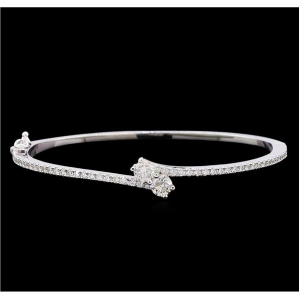 1.92 ctw Diamond Bracelet - 14KT White Gold