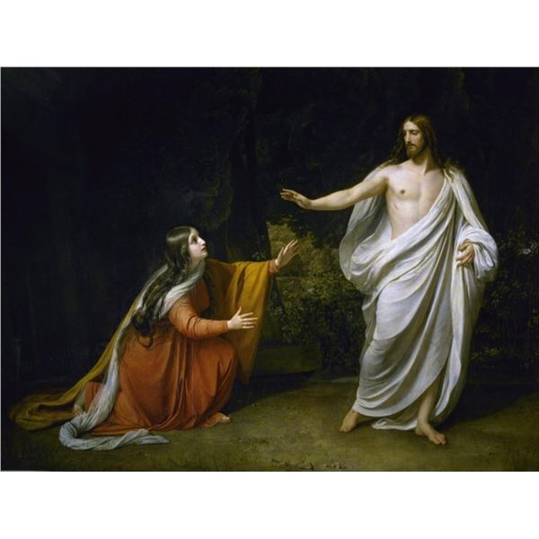 Alexander Ivanov - Christ Appearing to Mary Magdalene after the Resurrection