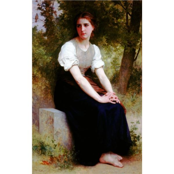 William Bouguereau - The Song of Nightingale