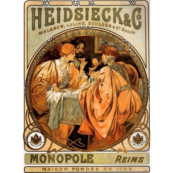 Alphonse Mucha - Piper Heidseicke