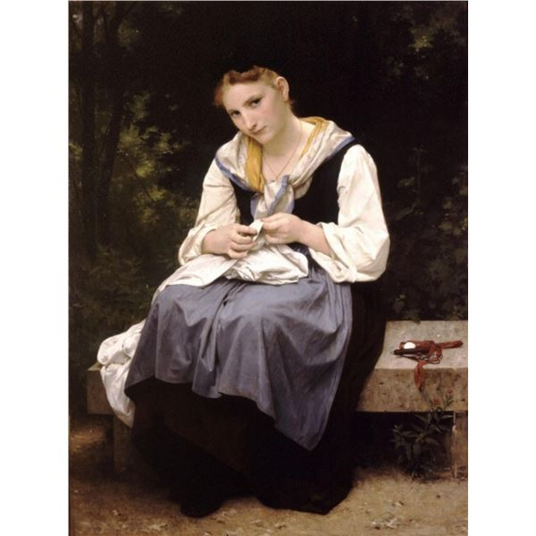 William Bouguereau - Young Worker