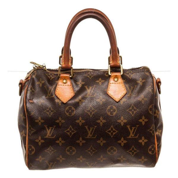 Louis Vuitton Brown Speedy 25cm Satchel Bag