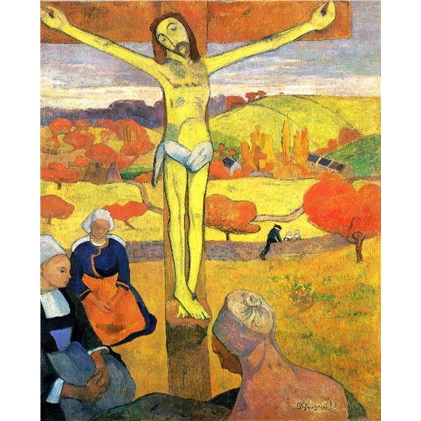Paul Gauguin - The Yellow Christ