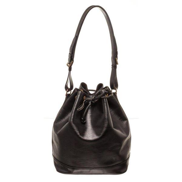 Louis Vuitton Black Epi leather Noe GM Bucket Bag