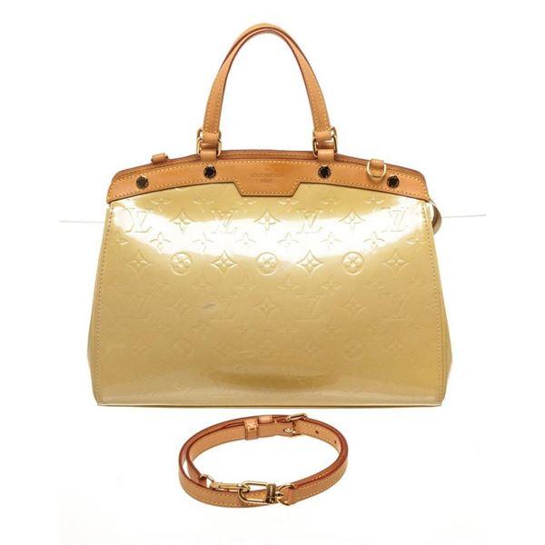 Louis Vuitton Yellow Brea MM Shoulder Bag