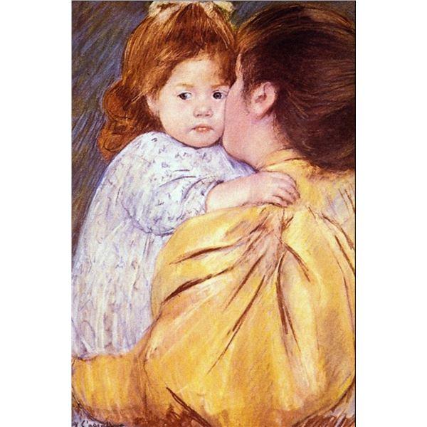 Mary Cassatt - The Maternal Kiss