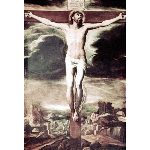 Artemisia Gentileschi - Crucified Christ