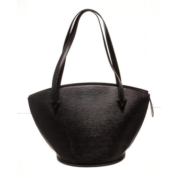Louis Vuitton Black St. Jacques GM Tote Bag