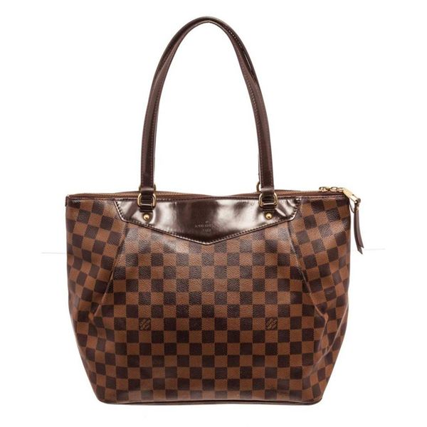 Louis Vuitton Brown Damier Ebene Westminster PM Totes