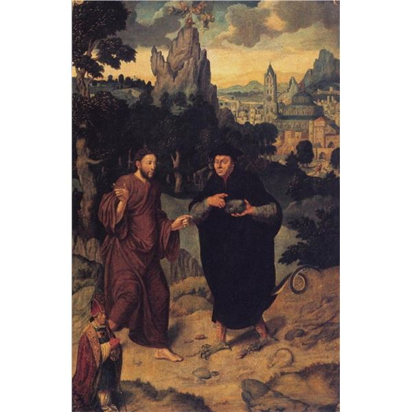 Bartholom�us Bruyn - Seduction of Christ