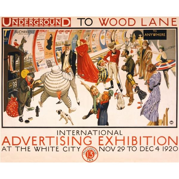 Frederick Charles Herrick - Underground to Wood Lane to Anywhere