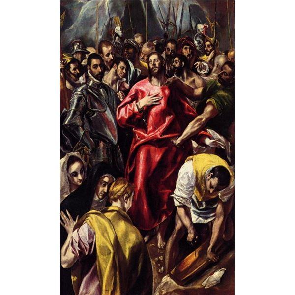El Greco - Disrobing of Christ(2)