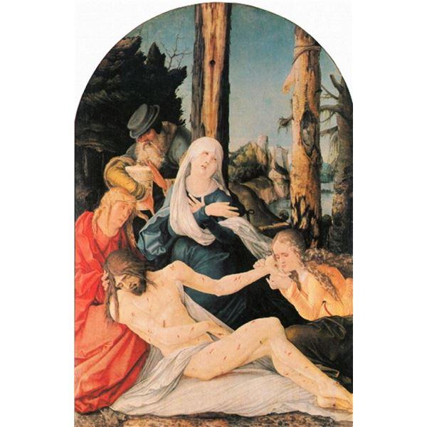 Hans Baldung - Weeping Christ