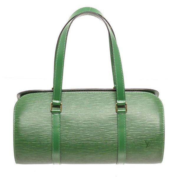 Louis Vuitton Green Soufflot Shoulder Bag