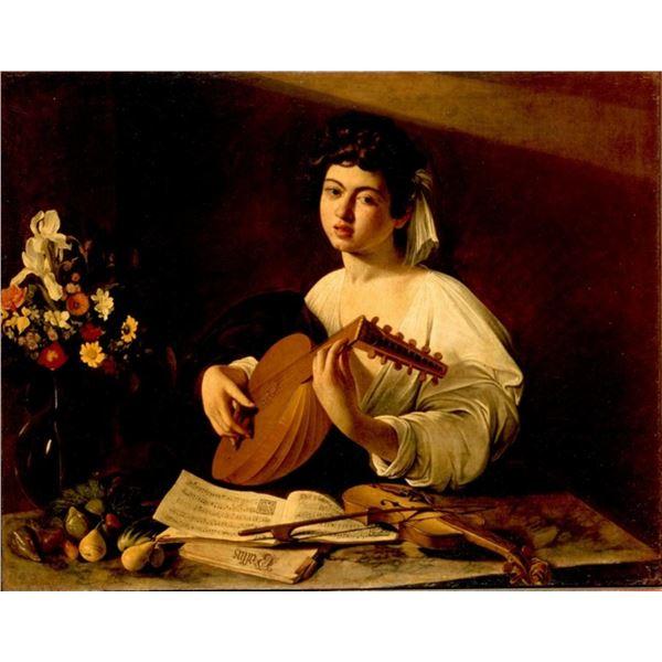Michelangelo Merisi da Caravaggio  - The Lute Player