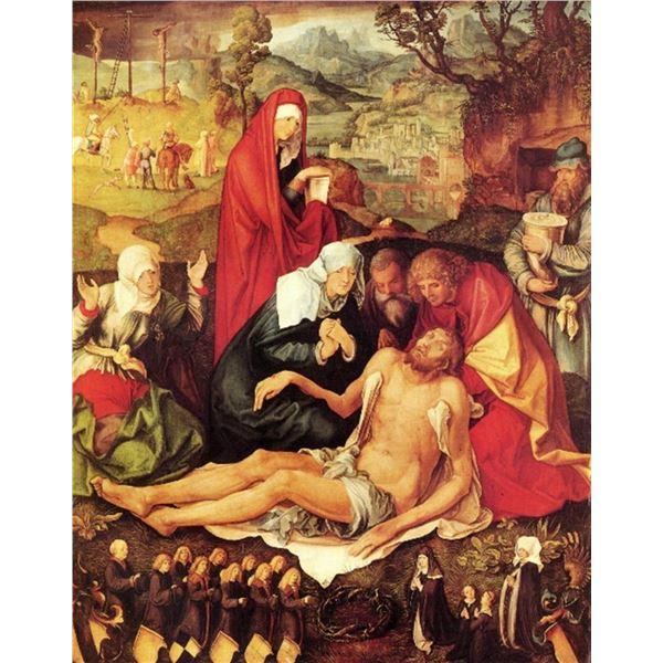 Albrecht Durer- Weeping Christ