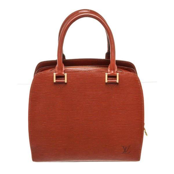 Louis Vuitton Red Pont Neuf Handbag